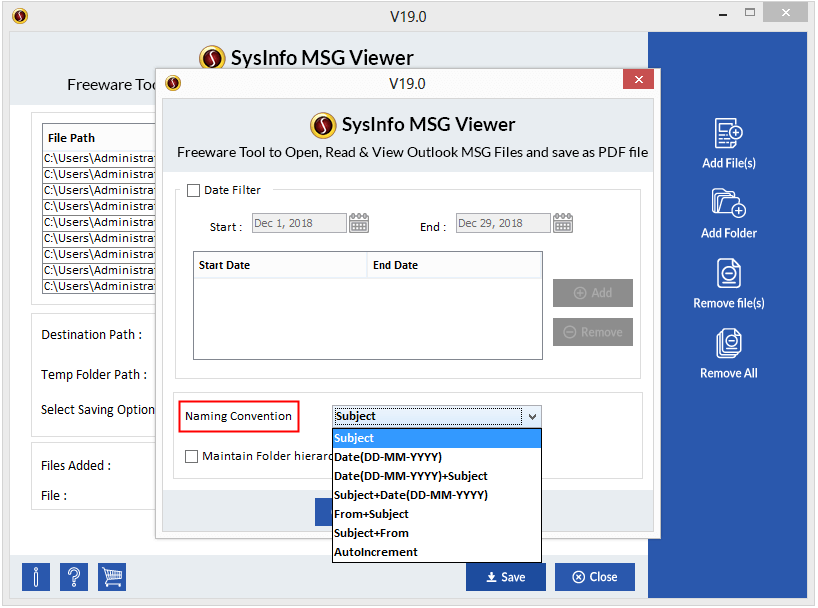 MSG Viewer Step 5