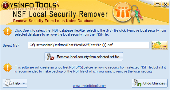 NSF Local Security Remover Step 3