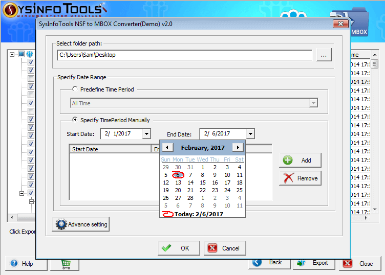 Windows 7 SysInfoTools NSF to MBOX Converter 2 full