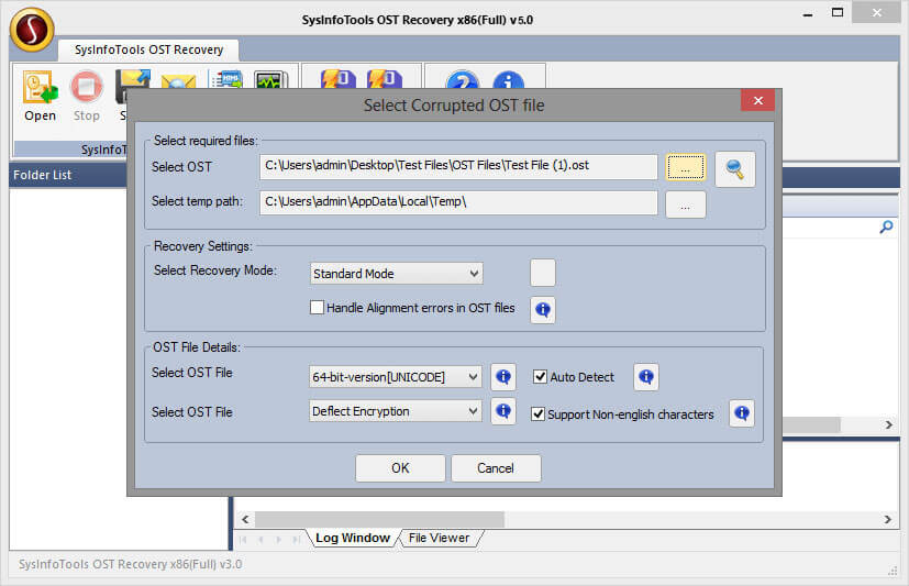 Best OST File Recovery Freeware screenshot