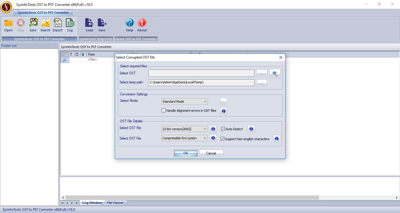 Windows 7 SysInfoTools OST to PST Converter Tool 18 full