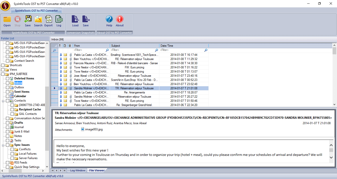 SysInfo OST to PST Converter