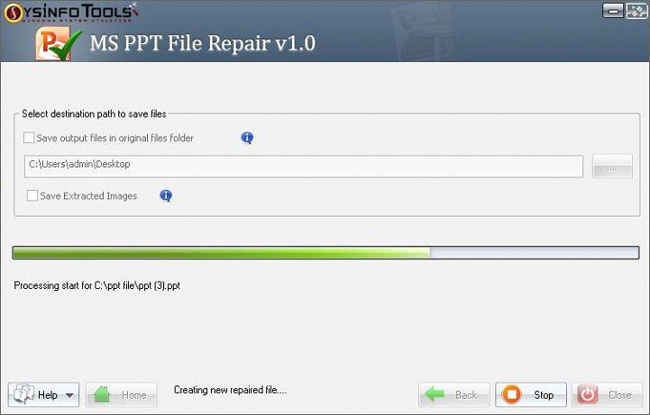 Step 10 MS Powerpoint PPT File Repair