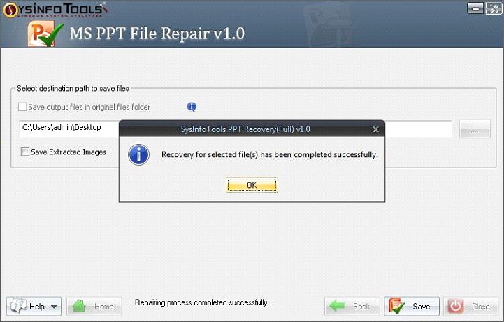 Step 11 MS Powerpoint PPT File Repair