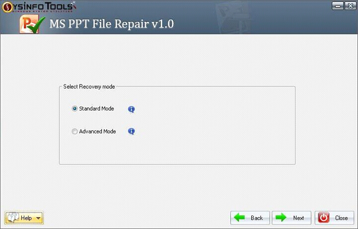 Step 4 MS Powerpoint PPT File Repair