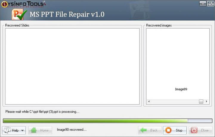Step 5 MS Powerpoint PPT File Repair