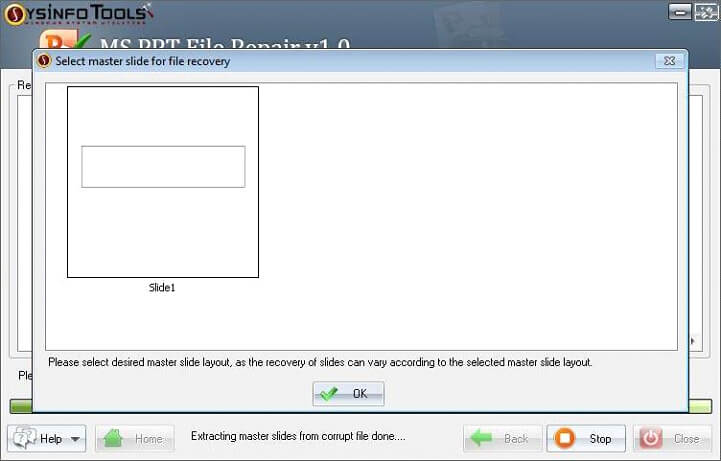 Step 6 MS Powerpoint PPT File Repair
