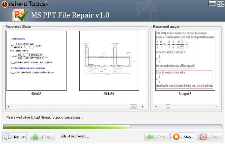 Step 7 MS Powerpoint PPT File Repair