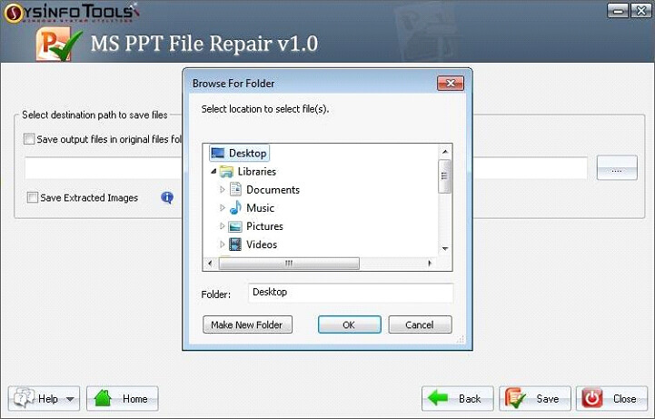 Step 9 MS Powerpoint PPT File Repair