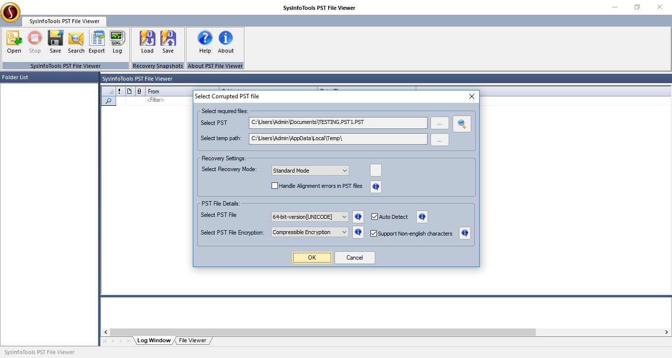 SysInfoTools PST File Viewer Tool 20.0 full