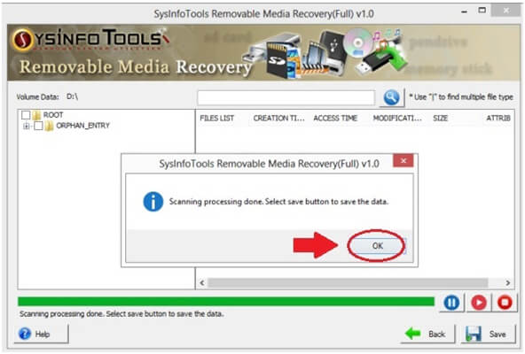 sysinfo ssd recovery
