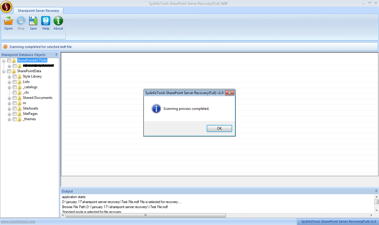 Step 4 SharePoint Server Recovery