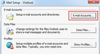 Email setup email accounts