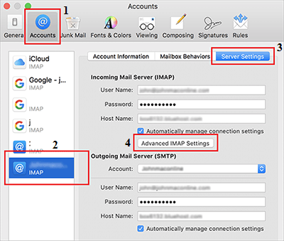moving mail accounts to another mac