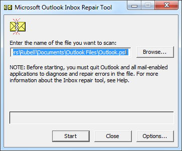 Fixed - PST File Not Showing Emails in Outlook 2016, 2013 & 2010